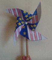 pinwheel paper craft