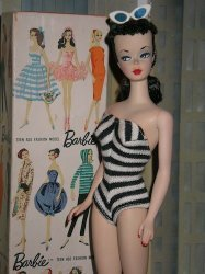 The original Barbie, 1959