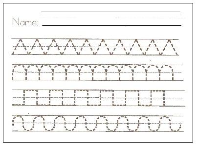 Kindergarten Pattern Worksheets Printables furthermore Math Worksheets ...