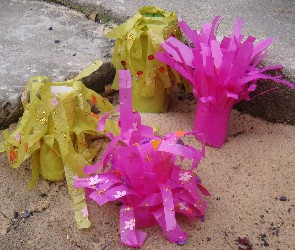 Sea anemones - Preschool Ocean Theme Craft