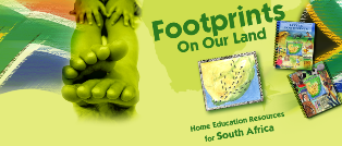 South African Homeschool Curricula - Footprints On Our Land