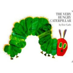 The Hungry Caterpillar - Board Book