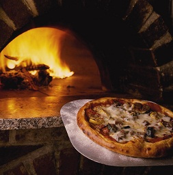 Pizza and oven