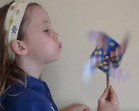 pinwheel spinning craft