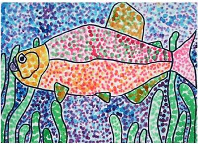 Fish Pointillism